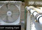 "DIY Evap Cooling Fan! – Homemade ""misting style"" Evap Air Cooler! – Simple Box-Fan Conversion!"